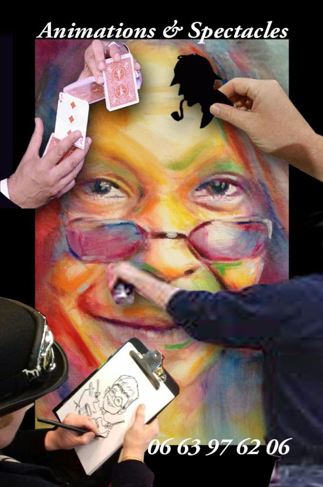 animations & spectacles magie caricature silhouhettiste