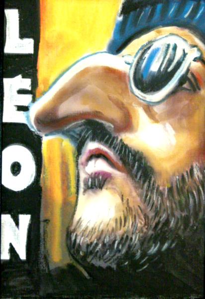 caricature Léon