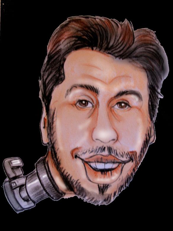 caricature photographe