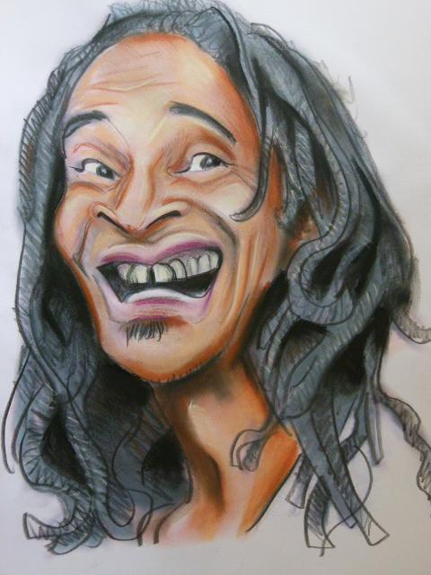 Caricature deYannick noah