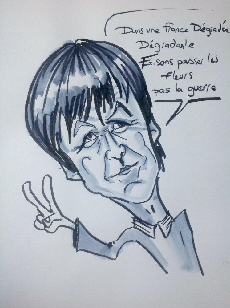 Caricature Nicolas Hulot