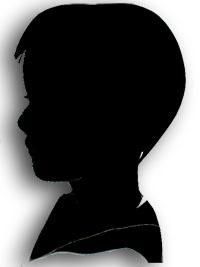 Silhouette enfant