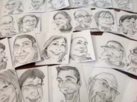 Lot de caricatures