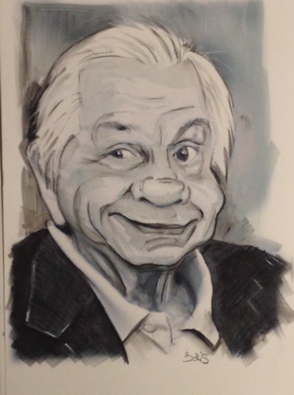 Caricature Michel Galabru